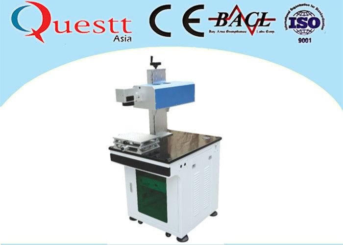 Einfache bewegliche Laser-Draht-Markierungs-Maschine, weiße ...